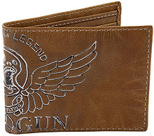 Шкіряний гаманець Top Gun Keep Em' Flying