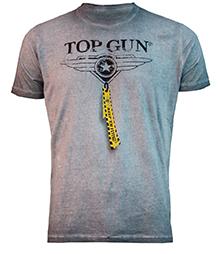 """Футболка Top Gun """"Logo"""" Tee (сіра)"""