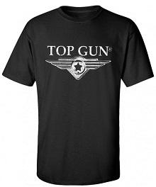 Футболка Top Gun Wing Logo Tee (чорна)