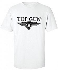 Футболка Top Gun Wing Logo Tee (white) TGM1509