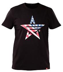 Футболка Airboss USA (чорна) MSU365856