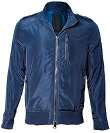 Вітровка Top Gun Nylon Bomber Jacket (синя)