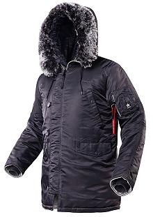 Куртка аляска Airboss Winter Parka 171000123221 (темно-сіра)