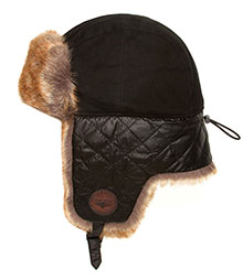 Зимова шапка Top Gun Checkered Winter Hat (чорна)